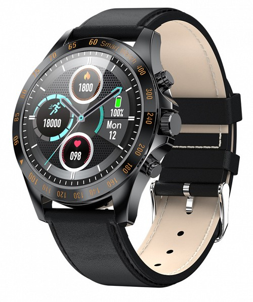 "HIFUTURE smartwatch HiGEAR, 1.3"", IP68, heart rate monitor, μαύρο HIGEARL-BK"